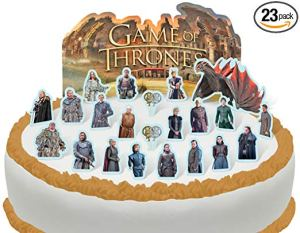 game of thrones finale party cake topper