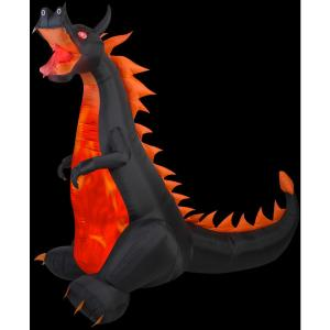 game of thrones finale party dragon inflatable