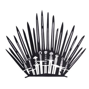 game of thrones finale party toilet stickers