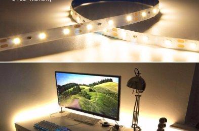 HitLights-Warm-White-LED-Light-Strips-Amazon