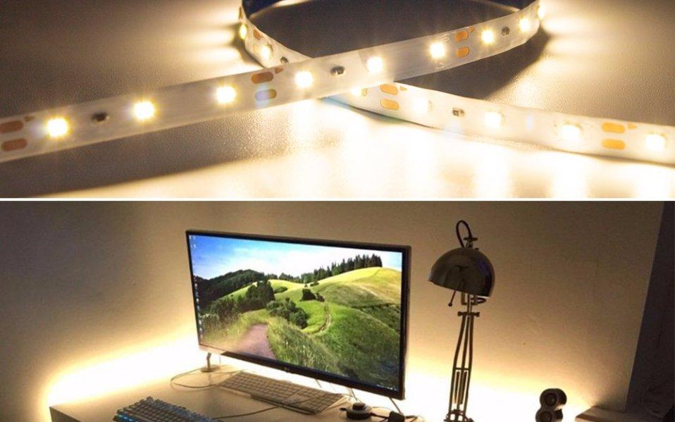 HitLights Warm White LED Light Strips
