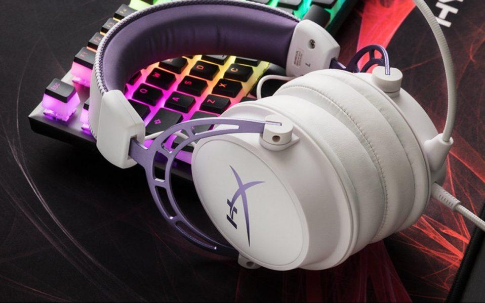 hyperx headset purple