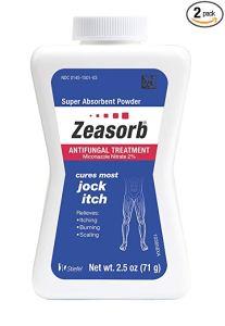 jock itch treatments zeasorb