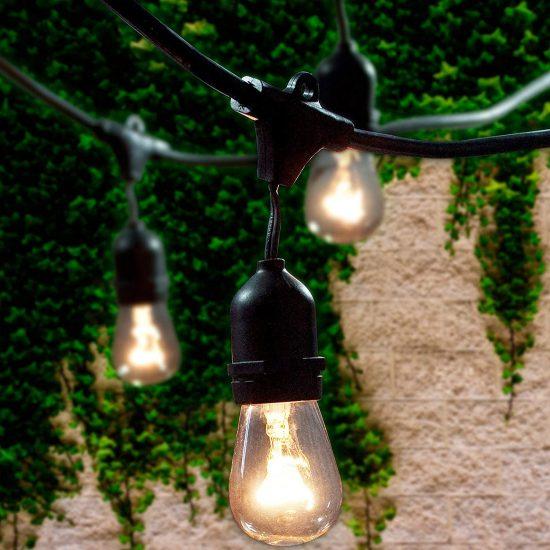 Lemontec indoor outdoor string lights