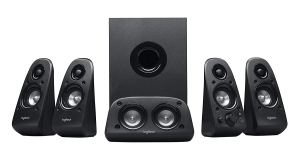 Logitech Surround Sound Home Theater Speaker System