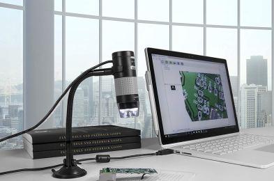 Microscope-featured