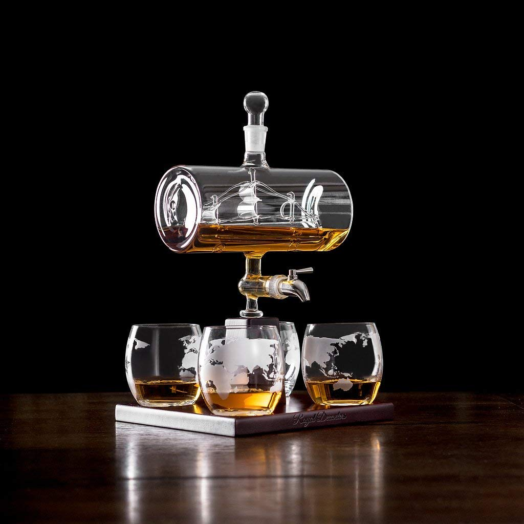 ship in a bottle decanter