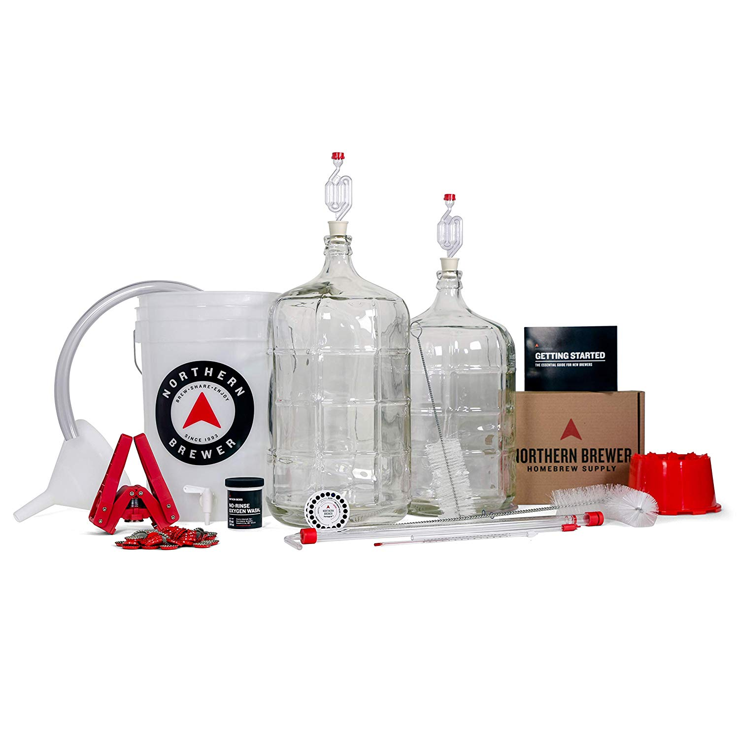 delux home brewing kit