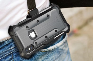 we're carrying our phone in these holsters now