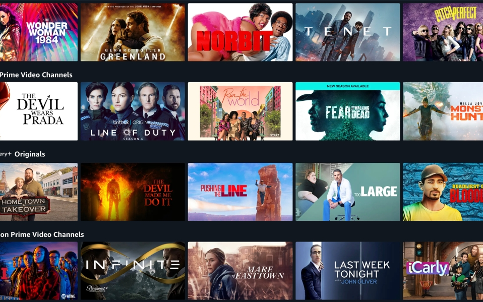 Prime Video Channel landing page