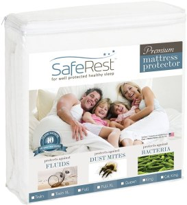 how to clean your mattress saferest full size premium protector