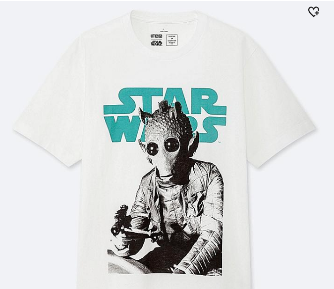 Star Wars Uniqlo t-shirt