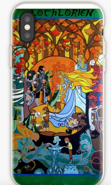 Lord of the Rings iPhone case lothlorien