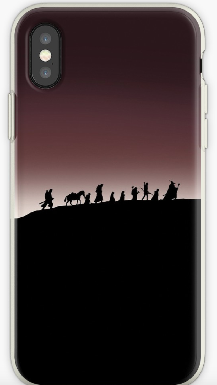fellowship of the rings iPhone case