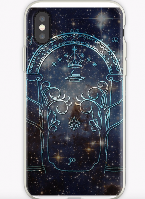 Gate to Moria lord of the rings iPhone case