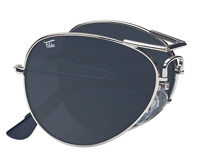 Foldies folding sunglasses aviators