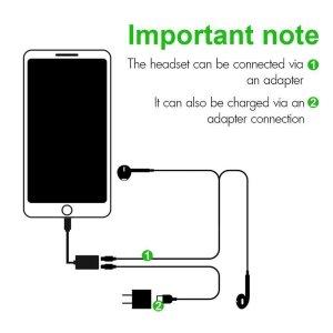 iphone splitter dual port pop view