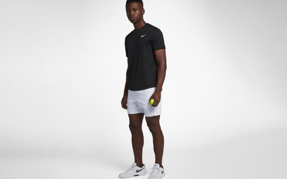 best white tennis shorts