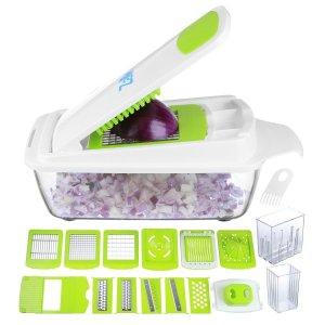 kitchen hacks fruits vegetables chopper