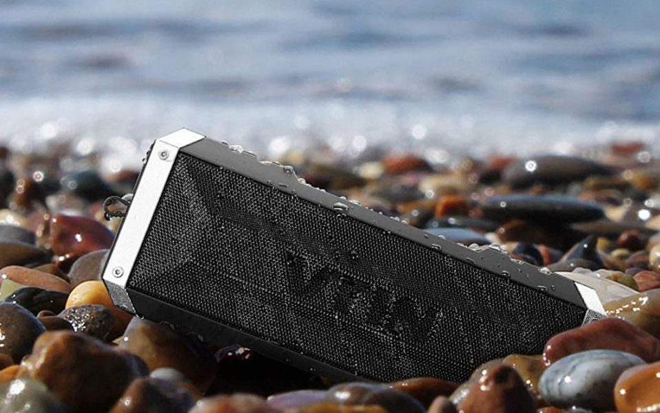 outdoor bluetooth speakers for the beach