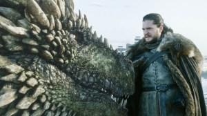 Game of Thrones Dragon John Snow