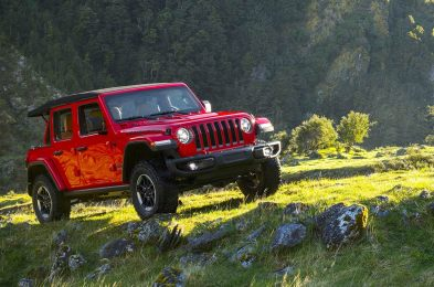 jeep wrangler outdoors