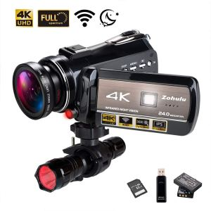 4K Wifi Full Spectrum Camcorder With Infrared Vision