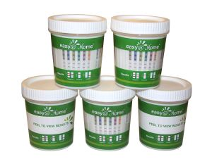 5 Pack Easy@Home 12 Panel Drug Test Cup Kit