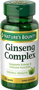 ginseng complex nature's bounty