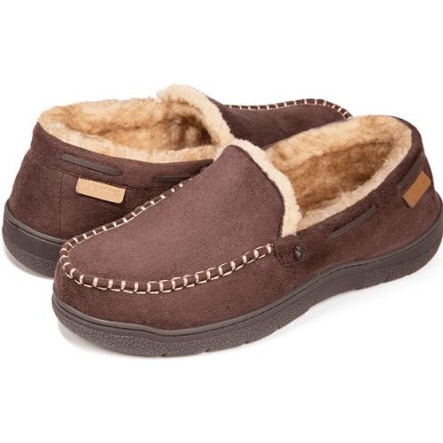 Fuzzy Microsuede Indoor/Outdoor Slippers