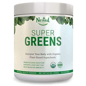 Super Greens Powder Nested Naturals