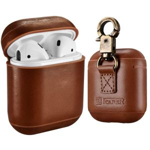 Leather Airpod Case Keychain