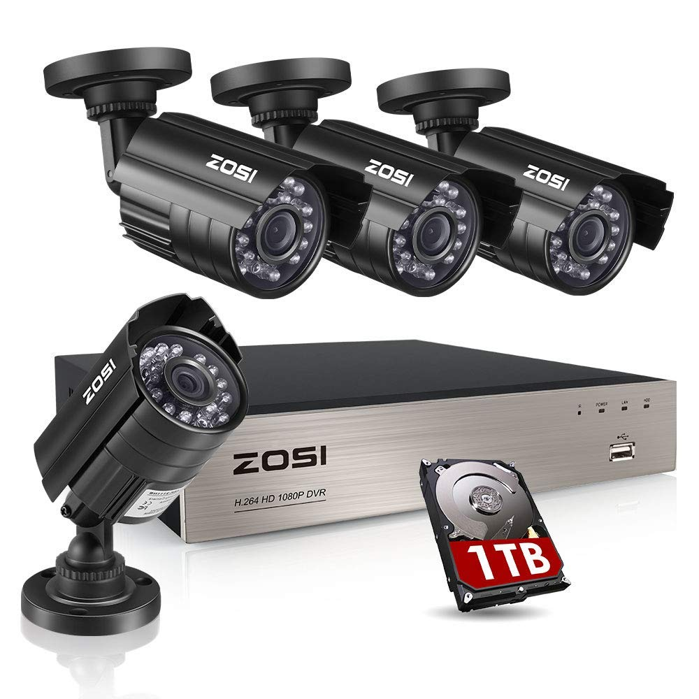 Security Camera System ZOSI