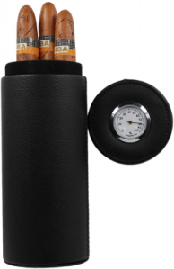 portable travel cigar humidor case