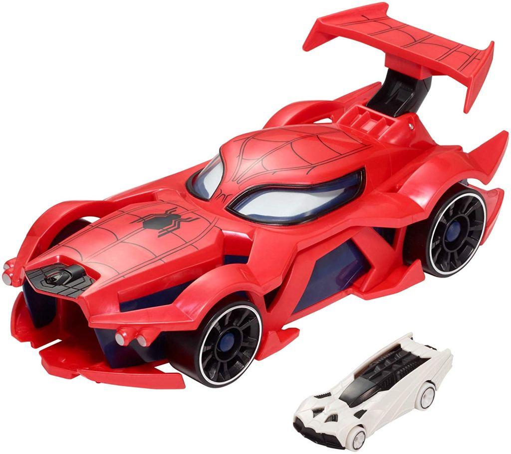 Spiderman toy car hot wheels