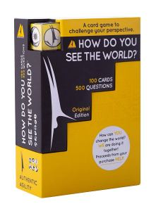 How do you see the world card game