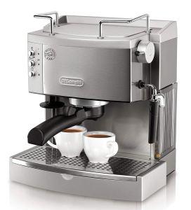 Steel Espresso Machine Delonghi