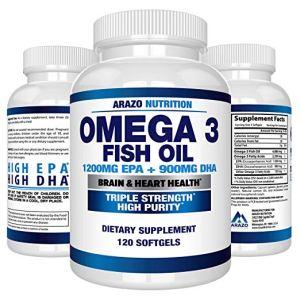 Omega 3 Fish Oil Arazo Nutrition