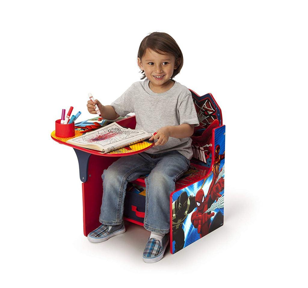 Delta Spider-Man Childrens Chair Desk