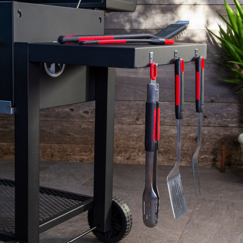 Stainless Steel Soft Grip BBQ Grill Tool Set
