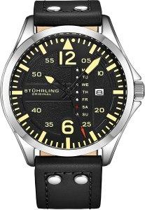 Stuhrling men's pilot watch, best pilot watches