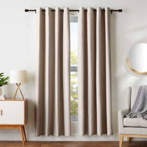 Amazon Basics Room Darkening Blackout Window Curtains