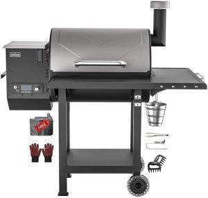 asmoke as660n electric wood fired pellet grill