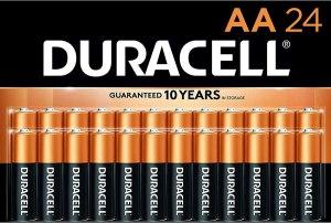 duracell batteries, hurricane emergency kit essentials
