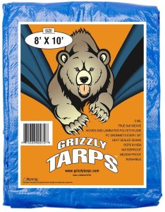 Grizzly Tarps, hurricane emergency kit essentials