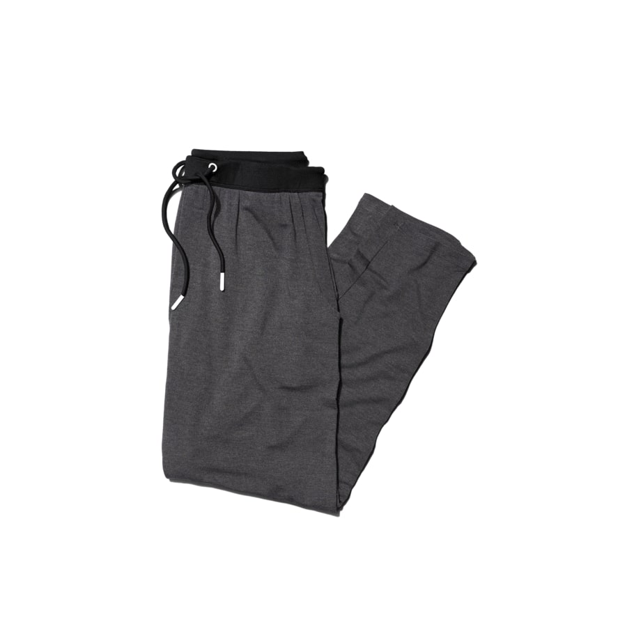 Jambys Long Jambys in Gray and Black; best men's loungewear