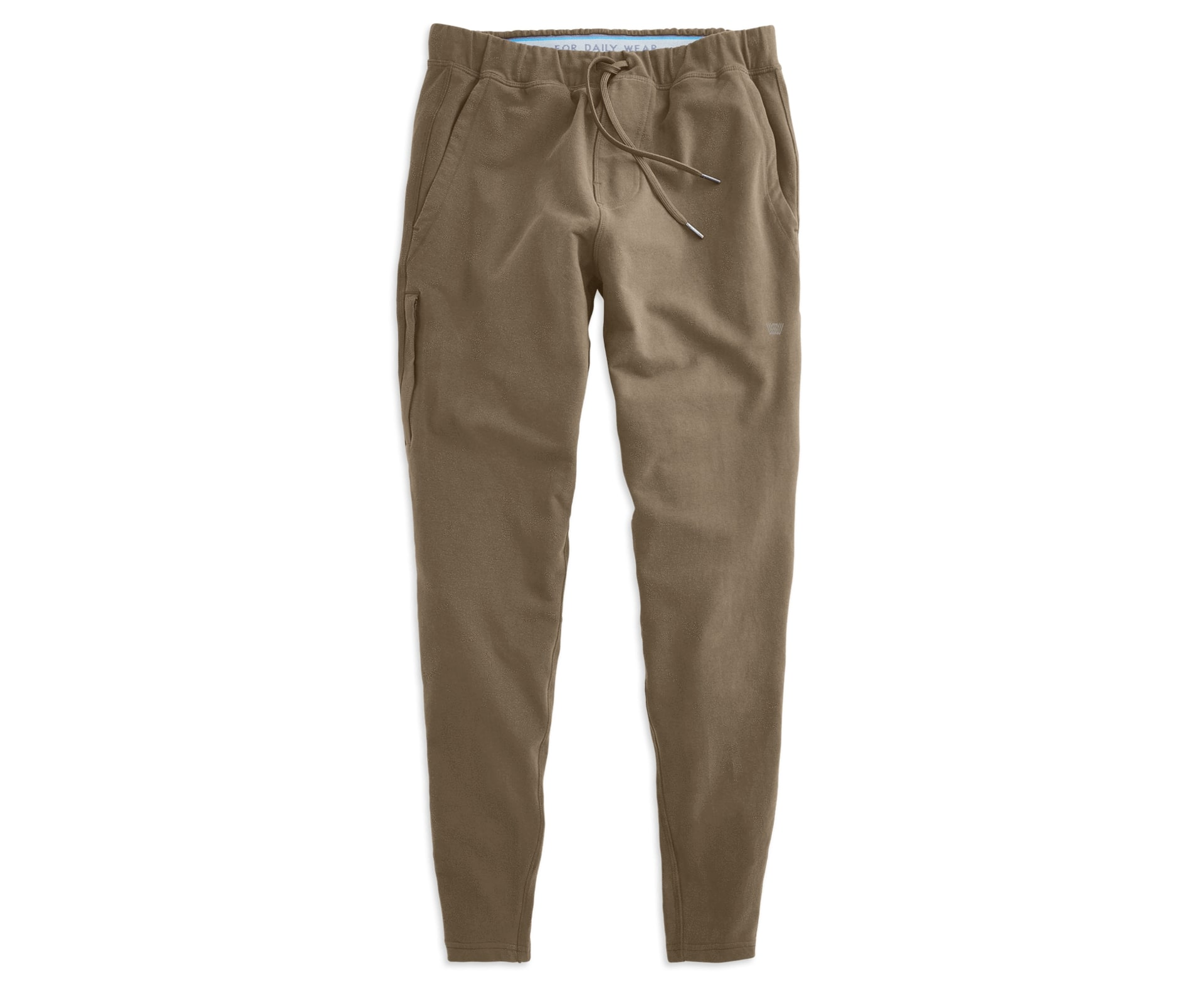 Mack Weldon Ace Sweatpant in light brown