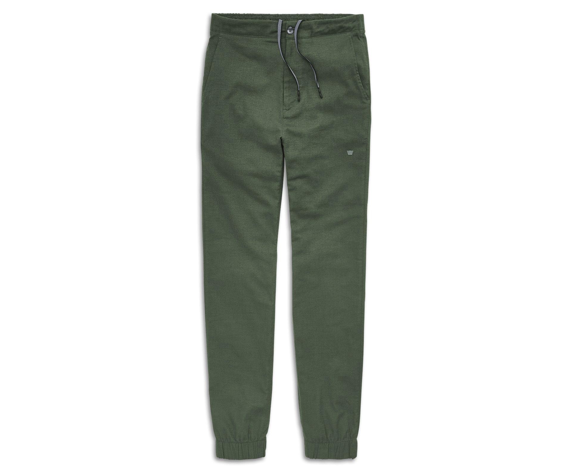 Mack Weldon Sunday Lounge Pants in green; best men's loungewear