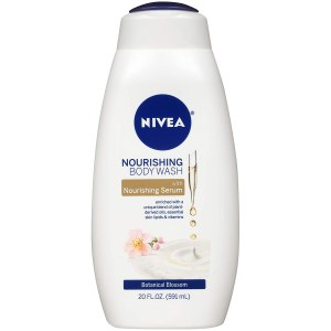 nivea nourishing botanicals blossom body wash