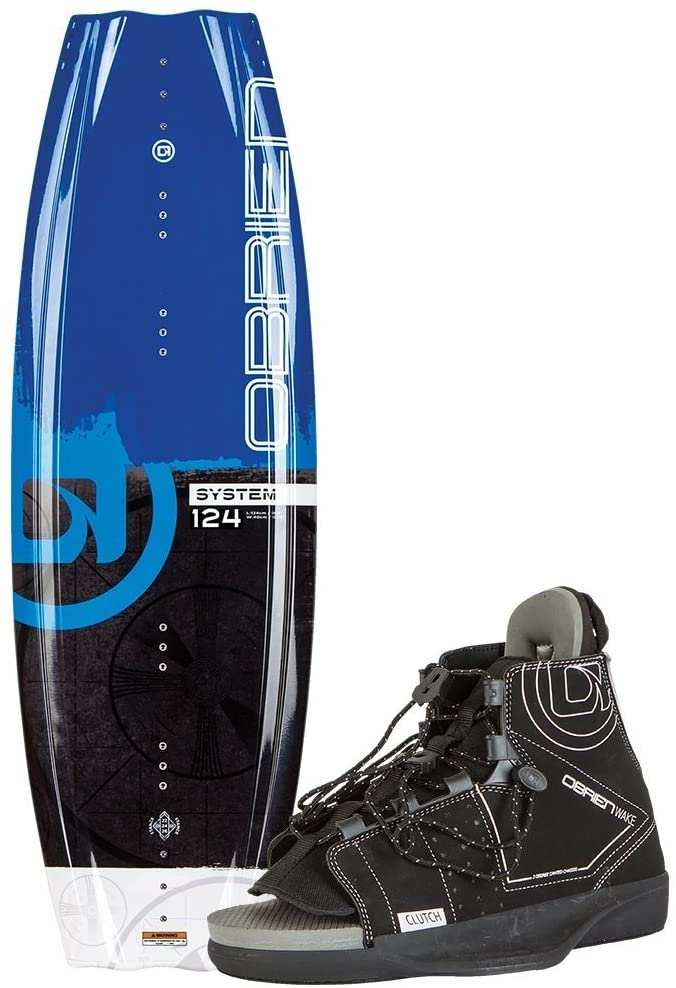 O'Brien System Wakeboard with Clutch Boots